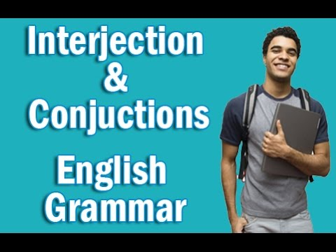 Basic English Grammar in Hindi | Interjection and Conjunction