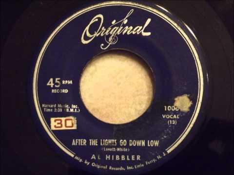 Al Hibbler - After The Lights Go Down Low - Original Version