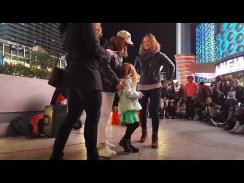 Jenieva being apart of a Vegas street performances part 3!  12/17/16