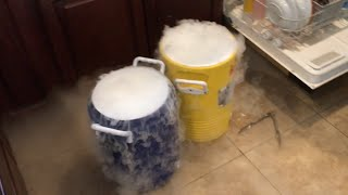 HOW TO MAKE DRY ICE HOMEMADE ROOTBEER