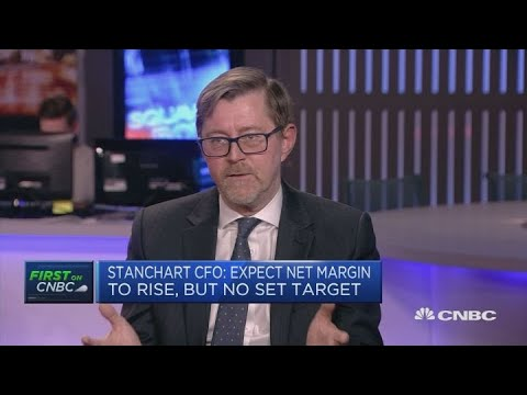 Standard Chartered CFO: Expect net margin to rise, but no set target   Squawk Box Europe