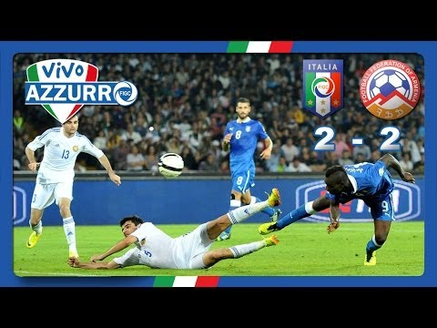 Highlights: Italia-Armenia 2-2 (15 ottobre 2013)