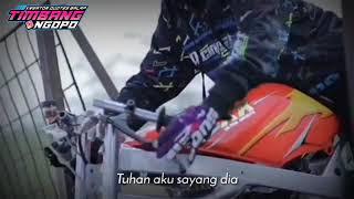 Story wa balap drag ninja rr || lagu tuhan tolong aku