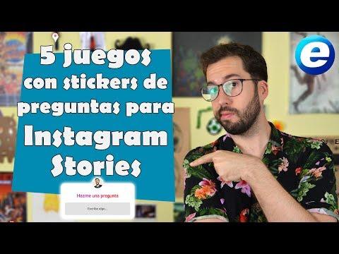 5 juegos con stickers de preguntas para Instagram Stories
