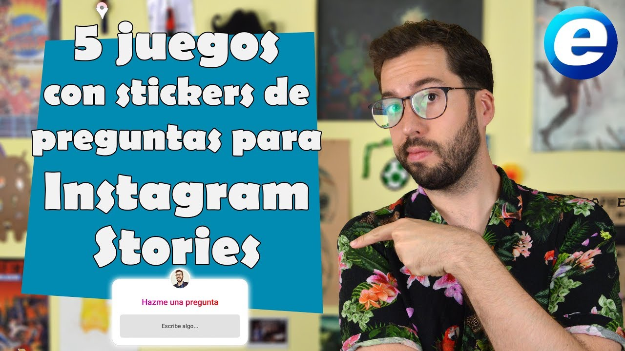 5 Juegos Con Stickers De Preguntas Para Instagram Stories Youtube