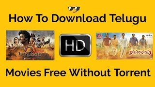 How To Download Telugu HD Free Movies | Without Torrent | Two Tech