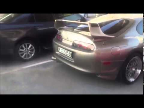 JDM UAE MEET 2015 Supra Back Fire