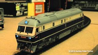 Bachmann China DF11 Diesel Passenger Locomotive 0406 Shanghai (HO Scale) Review HD