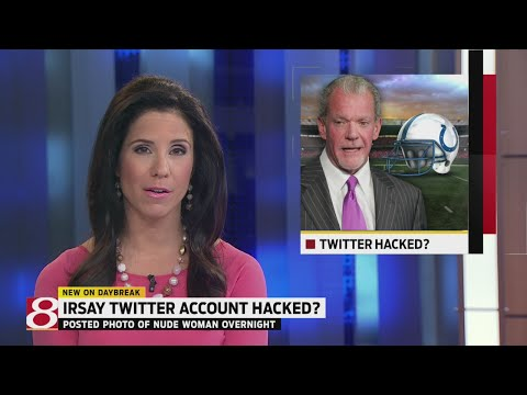 Photo of nude woman appears on Colts owner Jim Irsay's Twitter page