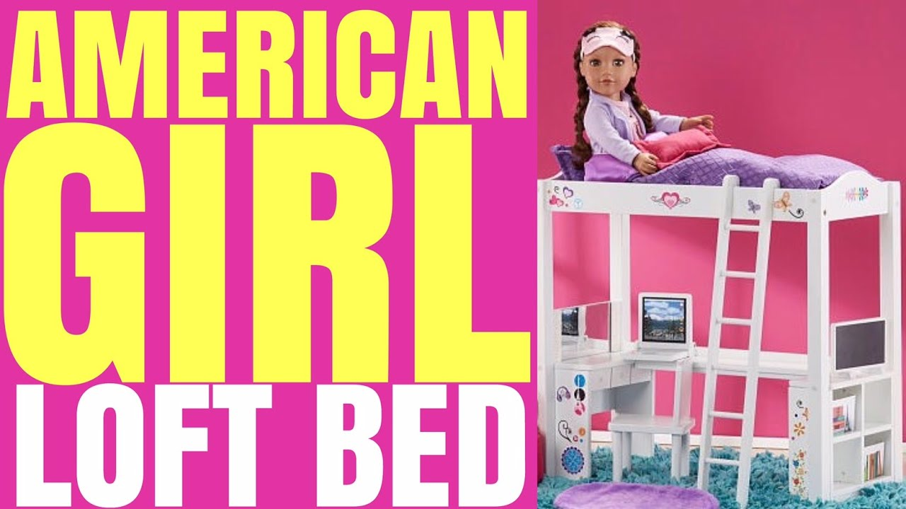 Opening American Girl Doll Loft Bed By Journey Girl Youtube
