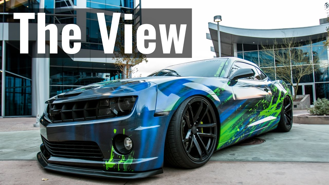 INSANE Wrapped & Bagged Camaro SS - The View Ep. 9 - YouTube