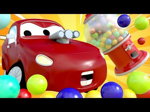 Авто Патруль -  Странная новая машина украла конфеты! - Автомобильный Город  🚓 🚒 детский мультфильм