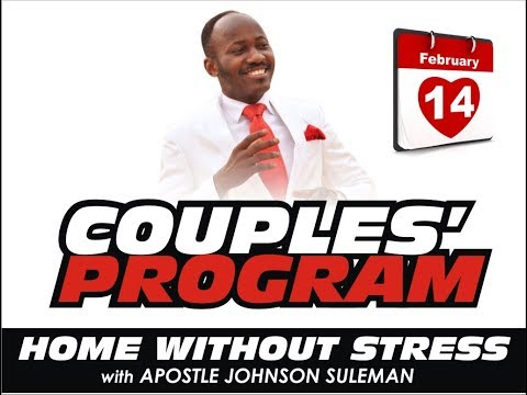 COUPLES MEETING 14TH FEB. 2018 WITH APOSTLE JOHNSN SULEMAN