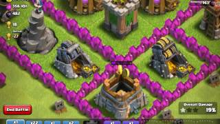 Clash of clans don't waste tons of troops