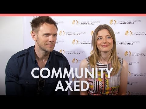 Joel McHale & Gillian Jacobs on Community axe and future