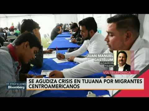 Se agudiza crisis en Tijuana por migrantes centroamericanos
