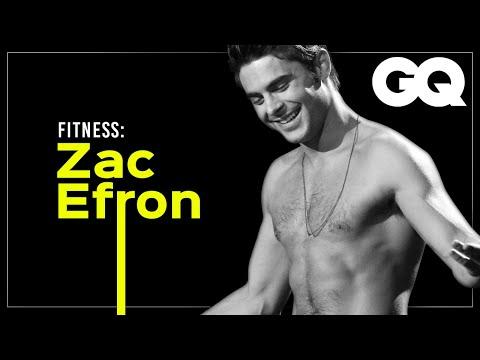 ZAC EFRON: su RUTINA DE EJERCICIO | GQ Fitness