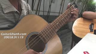 Cao Thủ Guitar Chạy Ngón Nhanh Kinh Khủng với Guitar 800k tại
