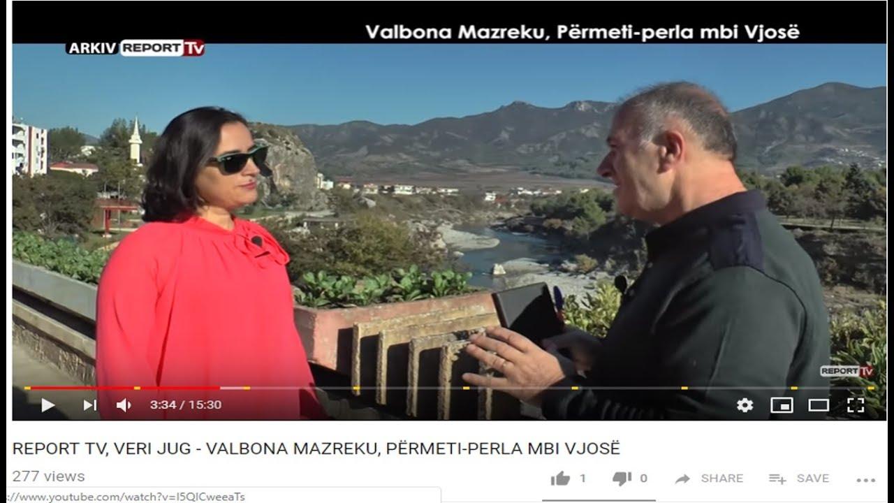 Valbona Mazreku, Përmeti perla mbi Vjosë