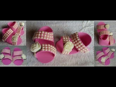 104. DIY New Born Baby Shoe । Baby