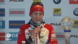 #HOL19 Women's Sprint Press Conference