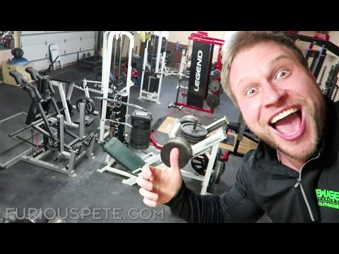 WORLD'S BEST GYM! | HANGING WITH THE WORLD'S STRONGEST MAN DAY 1