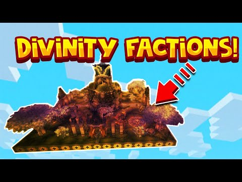 Minecraft Xbox One/MCPE/Bedrock Edition Modded Divinity Factions  Realm/Server Download