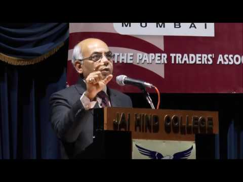 Seminar on GST for Paper Trader's Association, Jai Hind College, Mumbai