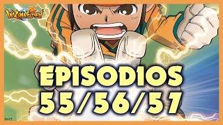 Episodios 55, 56 y 57 de Inazuma Eleven. Más de una hora de diversión!!!
