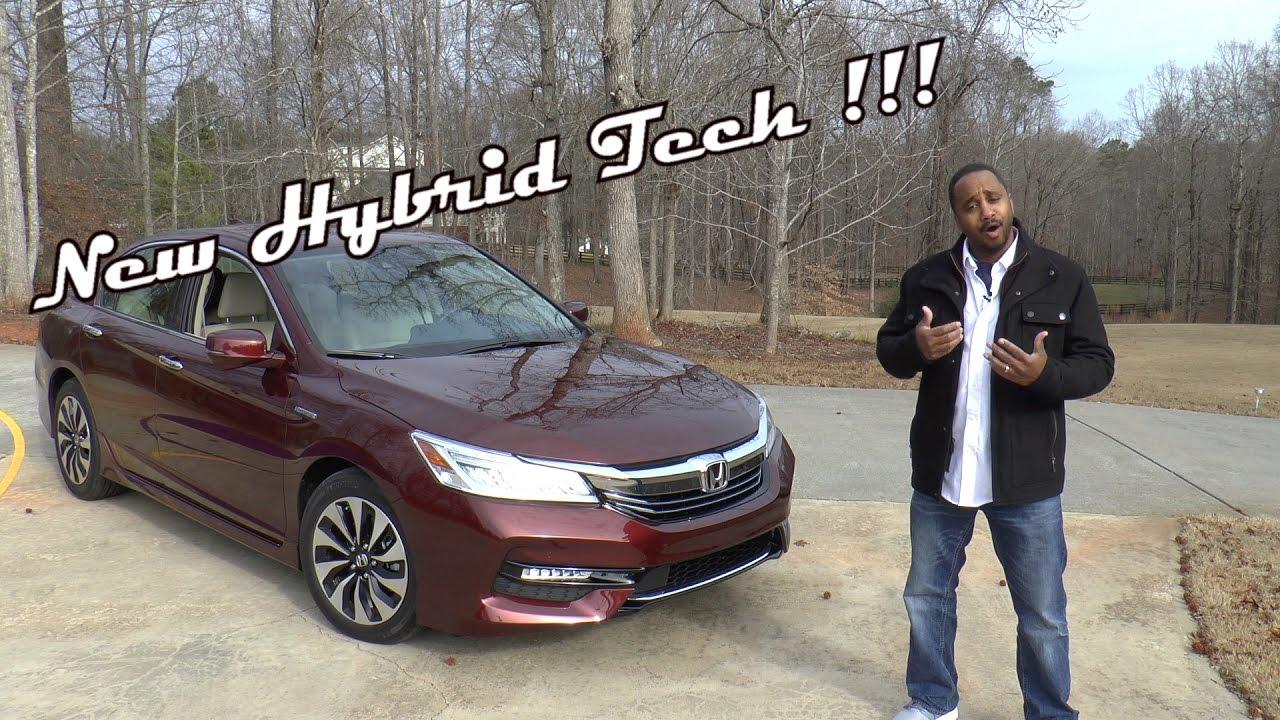 2017 Honda Accord Hybrid Touring Review New Tech