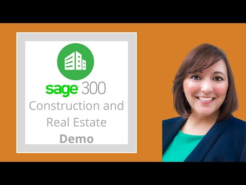 Demo | Sage 300 Construction & Real Estate (Timberline) *NEW* Construction Accounting Software