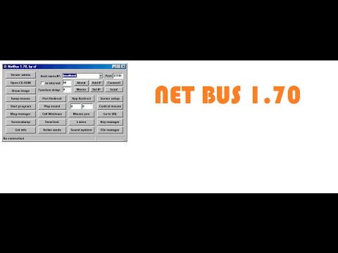 how to hack a computer using netbus 1.7 Trojan step by step