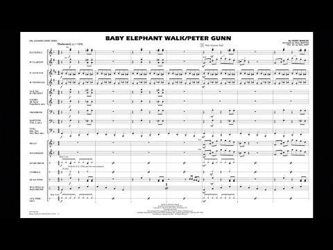 Baby Elephant Walk/Peter Gunn by Henry Mancini/arr. Paul Murtha