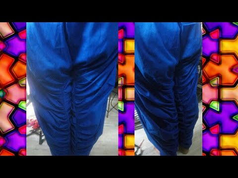 Khajuri salwar cutting and stitching//khajoori salwar cutting and stitching in Hindi //
