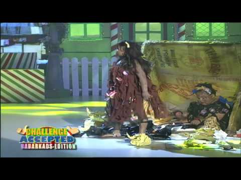 Challenge Accepted Dabarkads Edition - Ryzza and Baste (Tangong Grasa) | December 17, 2016