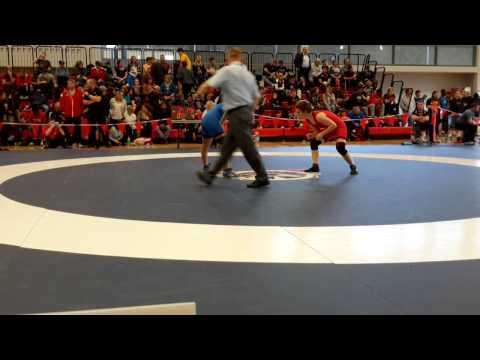 2015 Junior National Championships: 51 kg Amber Wiebe vs. Farah Taj