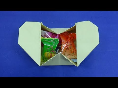 Step By Step Diy Origami Heart Box - All About Craft | 360x480