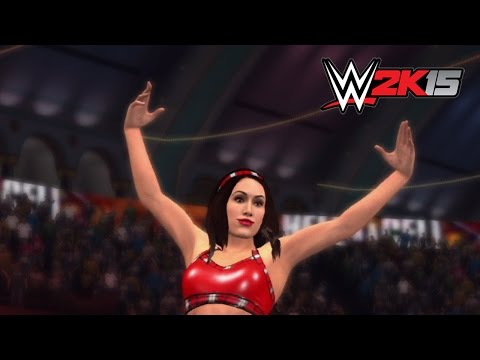 WWE 2K15 Replay: Brie Bella vs. Nikki Bella — WWE Hell in a Cell 2014 Simulation