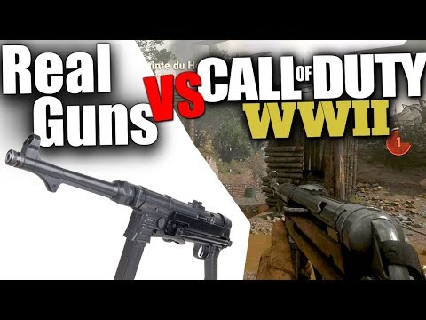 Thumbnail: Call of Duty WWII & Realism, Recoil and other Issues