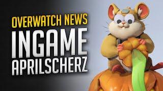Overwatch startet aprilscherz ingame!   deutsch