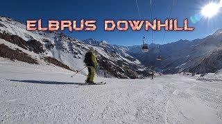 Скоростной спуск по трассе Эльбруса thumbnail