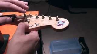 How to make your own Headstock logos in A FEW MINUTES:-)