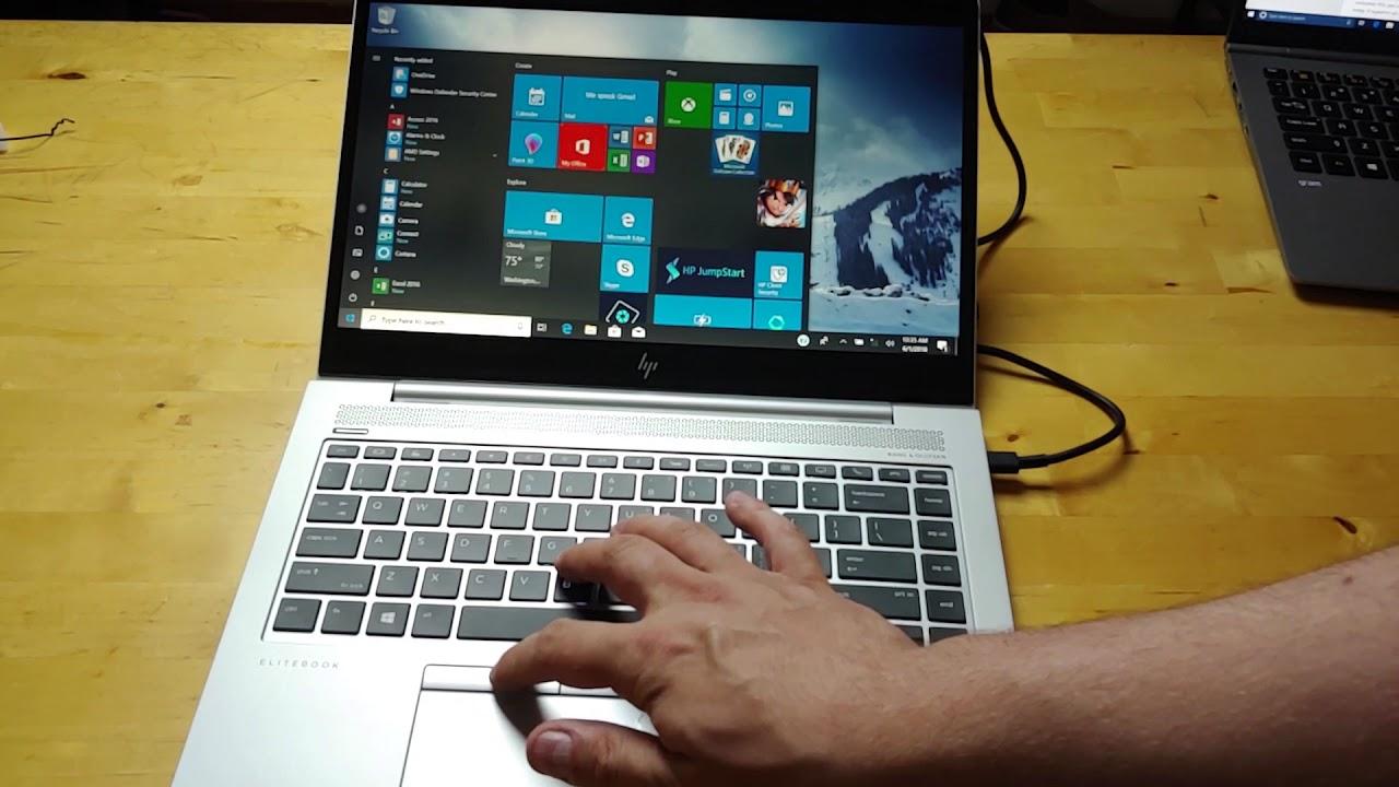 HP EliteBook 840 G5 unboxing