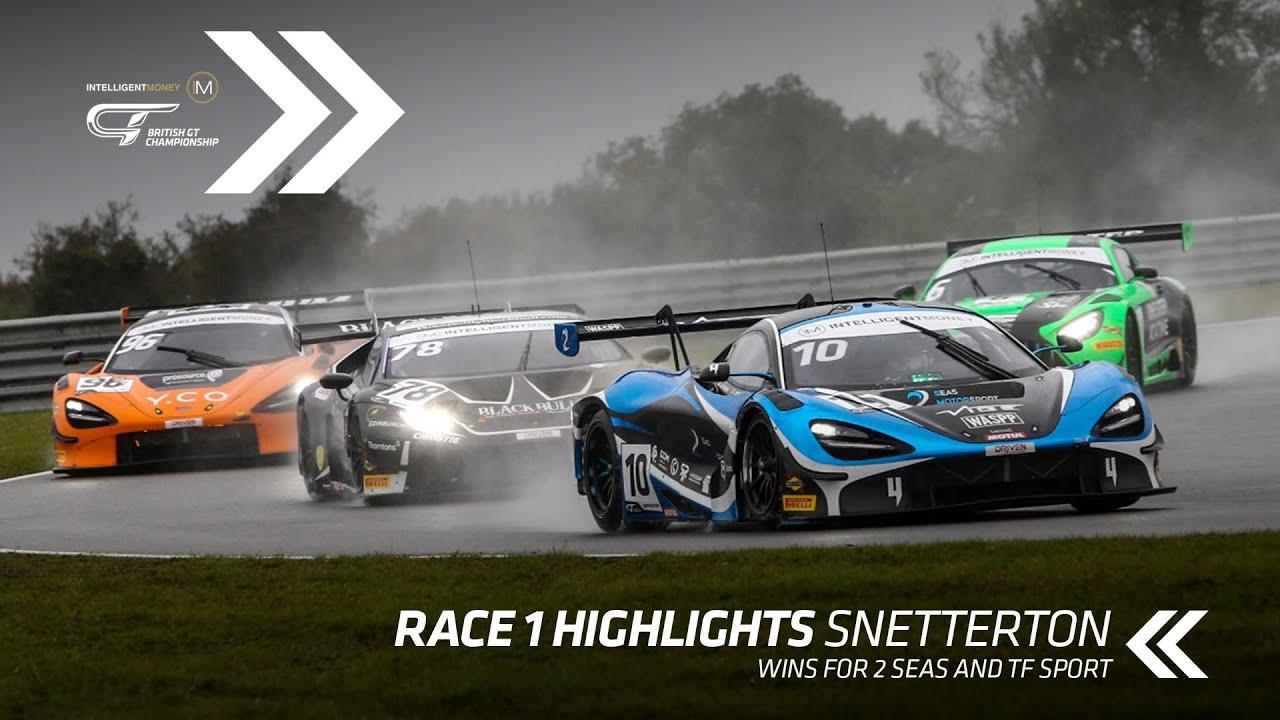 British GT - Snetterton Race 1 Highlights - Motor Informed