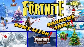 Fortnite BR [NEWS] NEW SEASON?! FREE SKINS! Festive patch.