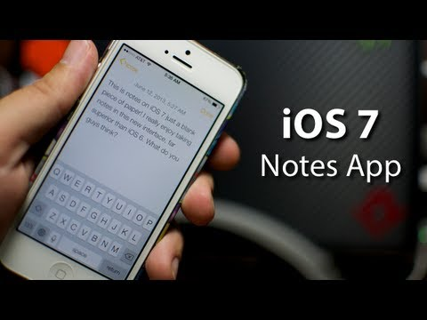 how to share apps on iphone ios 7 notes app on iphone 5 19097
