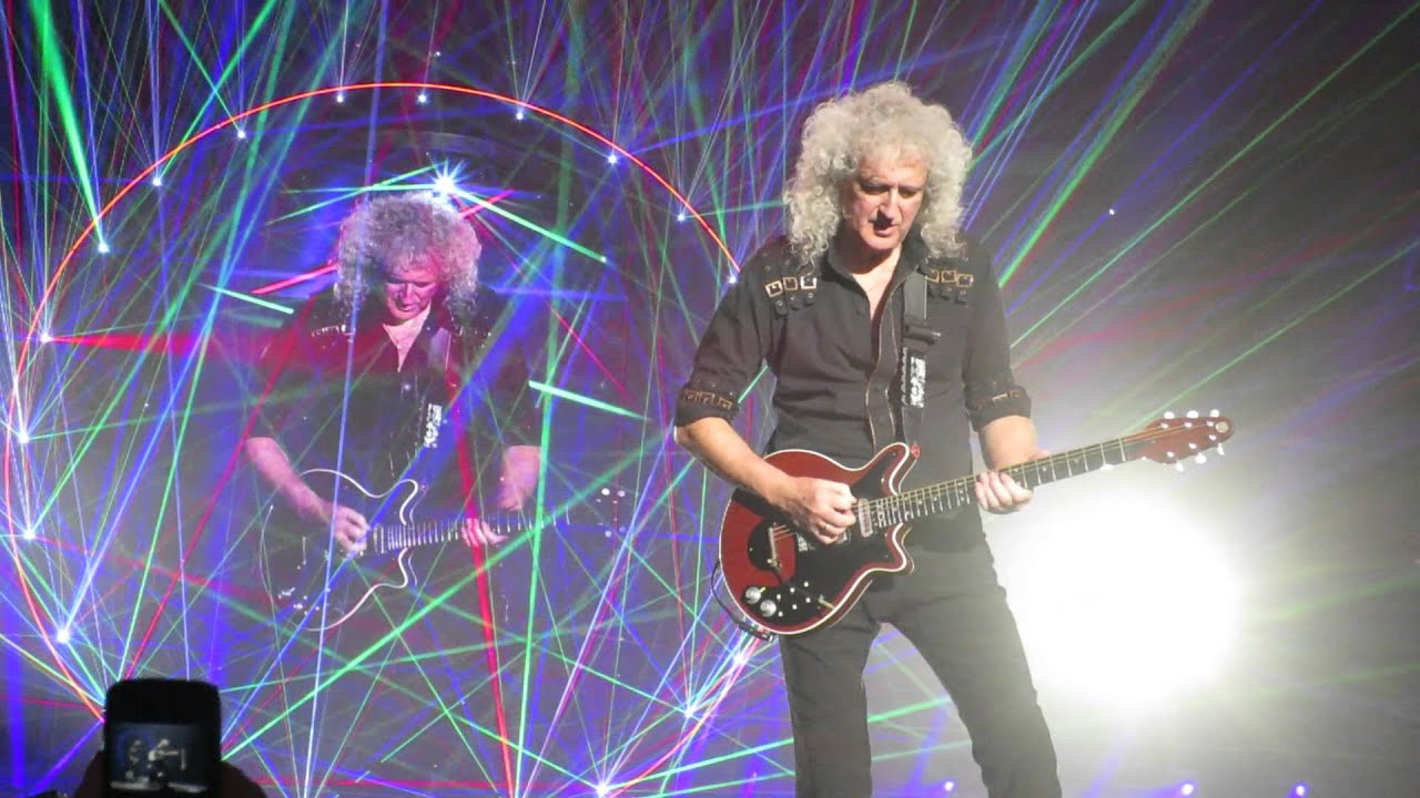 queen adam lambert guitar solo frankfurt 2015 youtube. Black Bedroom Furniture Sets. Home Design Ideas