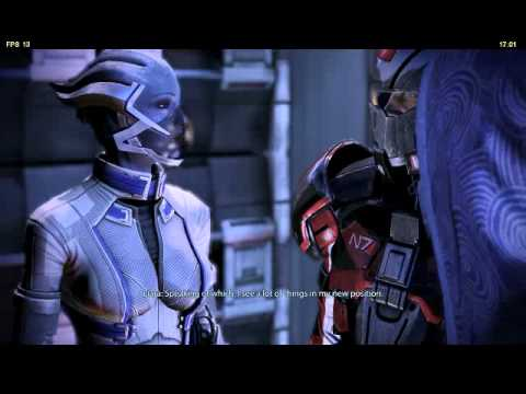 Mass Effect 3 - Liara reveals Tali private information