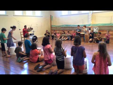 Bucket Drumming - 2015 La Grande Summer Music Camp