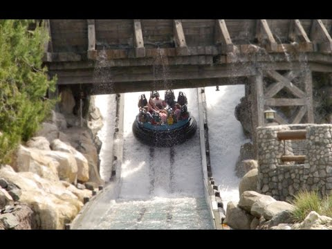 Disneyland Resort Grizzly River Run HD POV FULL Ride Disney's California Adventure